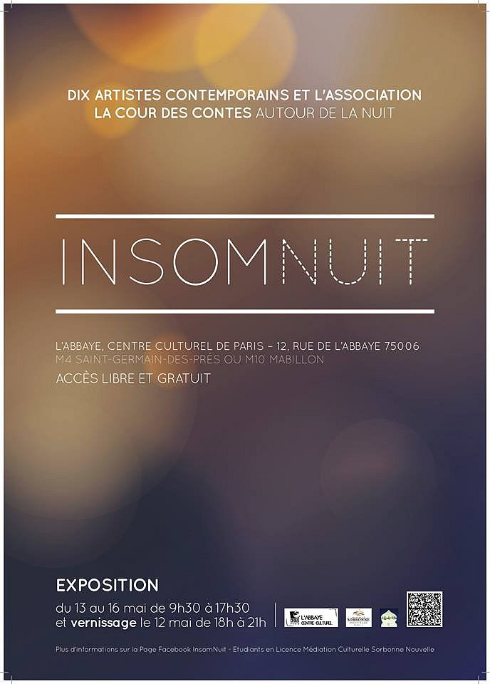 Flyer expo Insomnuit