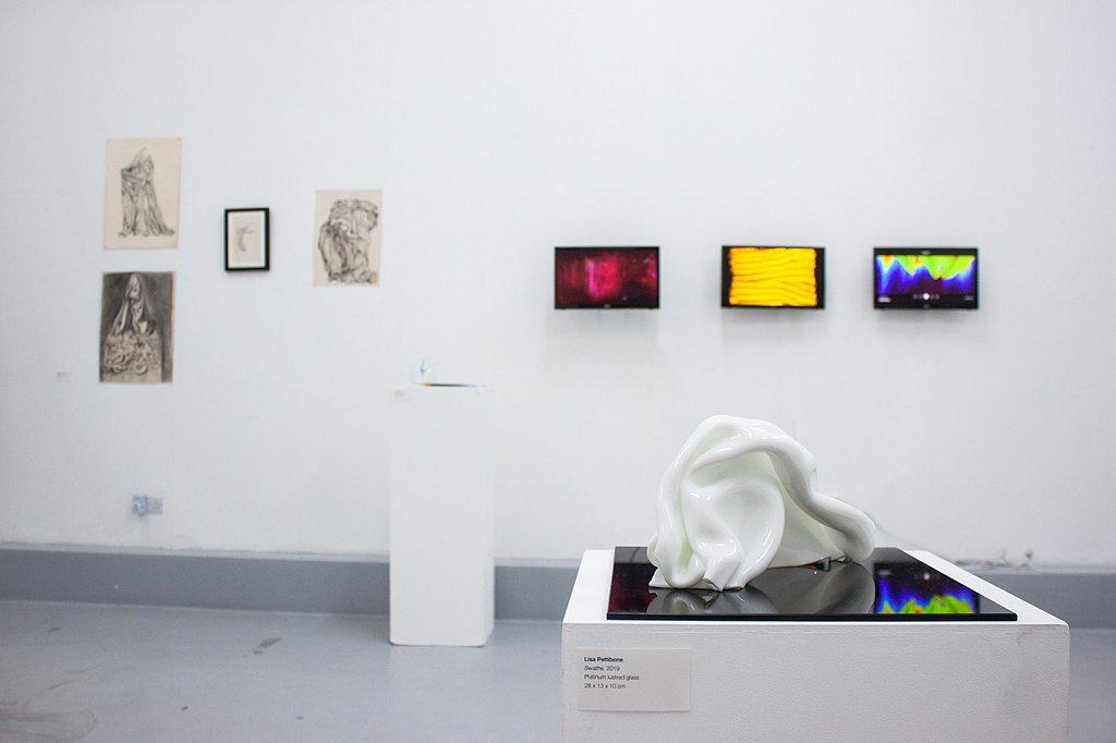 Folds Exhibition, Lewisham Arthouse, London, 2019